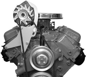 Alan Grove Components - Alan Grove Components Alternator Bracket - BB Chevy - Short Water Pump - RH - High Mount