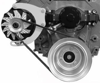 Alan Grove Components - Alan Grove Components Alternator Bracket - BB Chevy - Electric Water Pump - RH