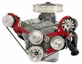Alan Grove Components - Alan Grove Components Alternator / Power Steering Bracket - SB Chevy - Short Water Pump - LH