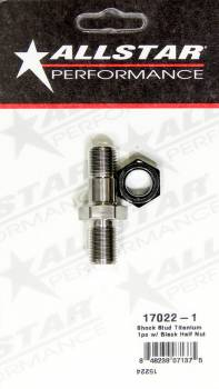 Allstar Performance - Allstar Performance Sprint Titanium Shock Stud For Frame Boss And Spuds - Stud and Nut (Single)