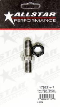 Allstar Performance - Allstar Performance Sprint Titanium Shock Stud For Frame Boss And Spuds - Stud and Nut (Single)