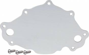Allstar Performance - Allstar Performance Water Pump Back Plate Late Model SB Ford