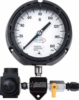 Allstar Performance - Allstar Performance Sprint Car Fuel Pressure Gauge