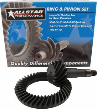 "Allstar Performance - Allstar Performance GM 8.5"" Ring and Pinion Gear Set - Ratio: 3.73"