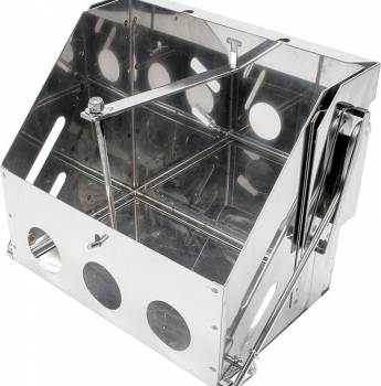 Allstar Performance - Allstar Performance Stainless Steel Drop-Out Battery Box