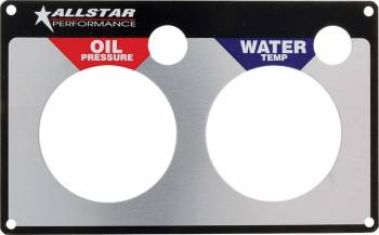 Allstar Performance - Allstar Performance Replacement 2 Gauge Panel - WT/OP