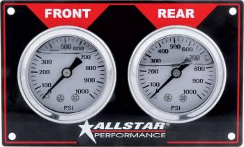 Allstar Performance - Allstar Performance Horizontal Brake Bias Gauge Panel