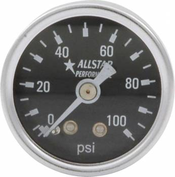 "Allstar Performance - Allstar Performance 0-100 PSI 1-1/2"" Gauge"