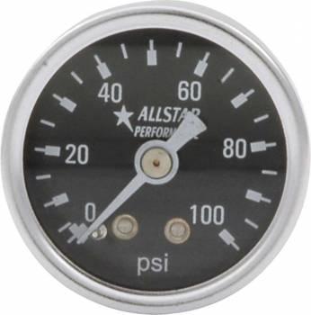 "Allstar Performance - Allstar Performance 0-100 PSI 1-1/2"" Gauge"
