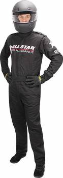 Allstar Performance - Allstar Performance Race Suit - Black, XX-Large