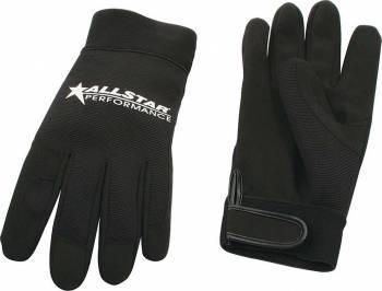 Allstar Performance - Allstar Performance Gloves - Black - Medium
