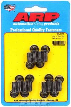 "ARP - ARP Black Oxide Header Bolt Kit - Hex - 3/8"" x .750"" Under Head Length (12 Pieces)"