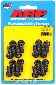 "ARP - ARP Black Oxide Header Bolt Kit - Hex - 3/8"" x .750"" Under Head Length (16 Pieces)"