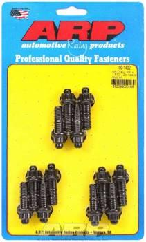 "ARP - ARP Header Stud Kit - 12Pt. - 3/8"" x 1.670"" OAL (12) Header Fasteners, Studs, External 12-Point, Custom 450, Black Oxide, Chevy, SB"