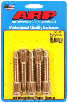 ARP - ARP 1/2-20 Wheel Stud Kit - 2.970, .568 Knurl, Press-In, Right Hand Thread, Set of 5