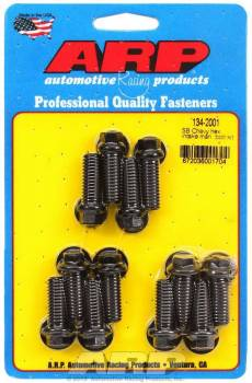 ARP - ARP High Performance Intake Manifold Bolt Kit - Black Oxide - SB Chevy 265-400 - Hex Heads