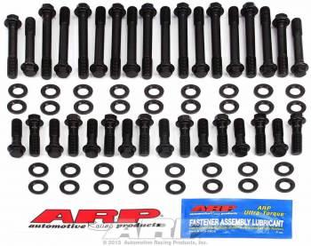 ARP - ARP Hi-Performance Series Head Bolt Kit - SB Chevy - Cast Iron OEM, Brodix -8, -10, -11, -11XB Heads - Hex Heads