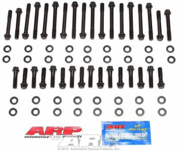ARP - ARP Hi-Performance Series Head Bolt Kit - SB Chevy - Cast Iron OEM, Brodix -8, -10, -11, -11XB Heads - 12 Pt. Heads