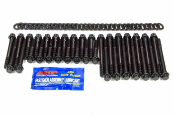 ARP - ARP Hi-Performance Series Head Bolt Kit - SB Chevy - Brodix -12, 18° /-10X - 12 Pt. Heads