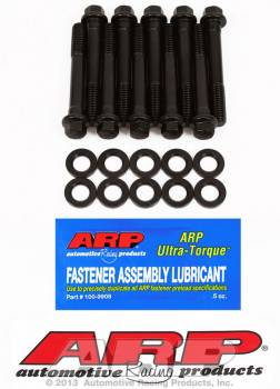 ARP - ARP High Performance Series Main Bolt Kit - SB Chevy - 2-Bolt Main - Small Journal