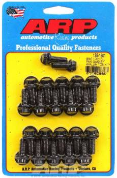 ARP - ARP BB Chevy Oil Pan Bolt Kit - 12 Point