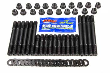 ARP - ARP Cylinder Head Stud 12 Point Nuts Chromoly Black Oxide - Small Block Mopar