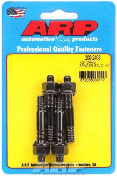 "ARP - ARP Carburetor Stud Kit - 5/16"" x 2.225"" - Black Oxide"