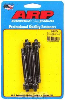 "ARP - ARP Carburetor Stud Kit - For Use w/ 1-1/2"" Spacer - 5/16"" x 2.900"""