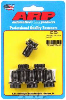 ARP - ARP Pontiac Flexplate Bolt Kit - 6-Bolt