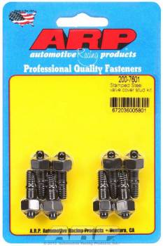 ARP - ARP Valve Cover Stud Kit - For Stamped Steel Valve Covers - (8 Pack)