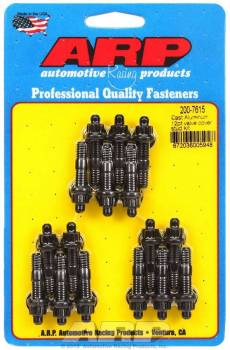 "ARP - ARP Valve Cover Stud Kit - For Cast Aluminum Covers - 1/4""-20 - 1.500"" Under Head Length - 12-Point (16 Pieces)"