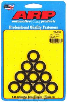 "ARP - ARP Chrome Moly Special Purpose Washers - 1/2"" I.D., 7/8"" O.D. w/ I.D. Chamfer - (10 Pack)"