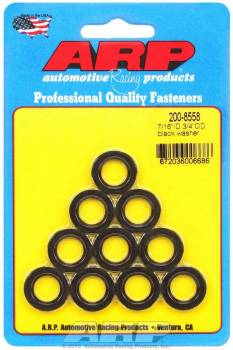 "ARP - ARP Chrome Moly Special Purpose Washers - 7/16"" I.D., 3/4"" O.D. w/ I.D. Chamfer - (10 Pack)"