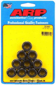 "ARP - ARP Replacement Nuts - 1/2""-20 Thread, 3/4"" Hex Socket Size - (10 Pack)"