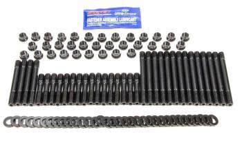 ARP - ARP Pro Series Head Stud Kit - SB Chevy - Cast Iron & Aluminum - OEM, Dart Sportsman & Dart II, Brodix -8, -9, -10, -11 - Track 1 - 12 Pt. Nuts w/ Undercut Studs