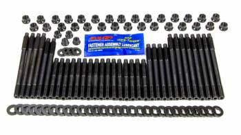 ARP - ARP Pro Series Cylinder Head Bolt Kit 12 Point Head Chromoly Black Oxide - Small Block Chevy