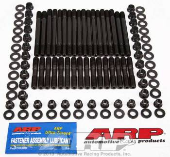 ARP - ARP Cylinder Head Stud 12 Point Nuts Chromoly Black Oxide - Undercut