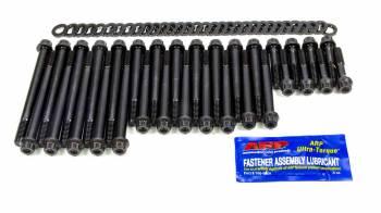 ARP - ARP Pro Series Cylinder Head Bolt Kit 12 Point Head Chromoly Black Oxide - Brodix/Canfield/World