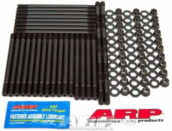 ARP - ARP Cylinder Head Stud 12 Point Nuts Chromoly Black Oxide - 12 Degree Hitman Heads