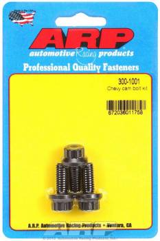 ARP - ARP Pro Series Cam Bolt Kit - Chevy w/ Oversize Head - Use w/ Cam Button
