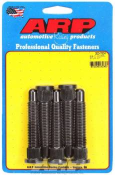 "ARP - ARP NASCAR Wheel Stud Kit - Press-In - 5/8""-11 Thread - 4.031"" Under Head Length - 0.685"" Knurl Diameter - 0.750"" Knurl Length - Set of 5"