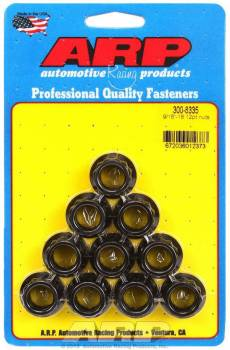 """ARP - ARP Replacement Nuts - 9/16""""-18 Thread, 11/16"""" 12 Pt. Socket Size - (10 Pack)"""