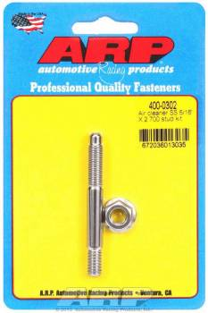 "ARP - ARP Stainless Steel Air Cleaner Stud Kit - 5/16"" x 2.700"""