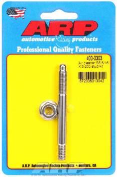 "ARP - ARP Stainless Steel Air Cleaner Stud Kit - 5/16"" x 3.200"""