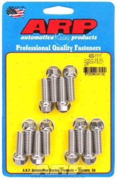 ARP - ARP Stainless Steel Header Bolt Kit - 3/8 x 1.00 UHL (12)