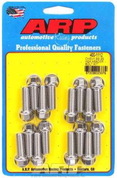 ARP - ARP Stainless Steel Header Bolt Kit - 3/8 x 1.00 UHL (16)