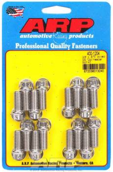 ARP - ARP Stainless Steel Header Bolt Kit - 3/8 x .875 UHL (16)