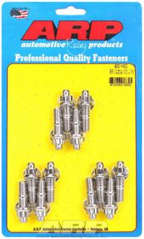 ARP - ARP Stainless Steel Header Stud Kit - External 12-Point - SB Chevy - Set of 12