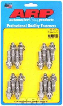 "ARP - ARP Stainless Steel Header Stud Kit - SB Chevy - 3/8"" x 1.670"" - 12 Pt."