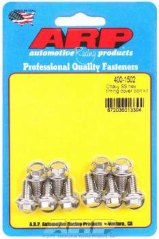 ARP - ARP Stainless Steel Timing Cover Bolt Kit - All Chevy V8 - Hex